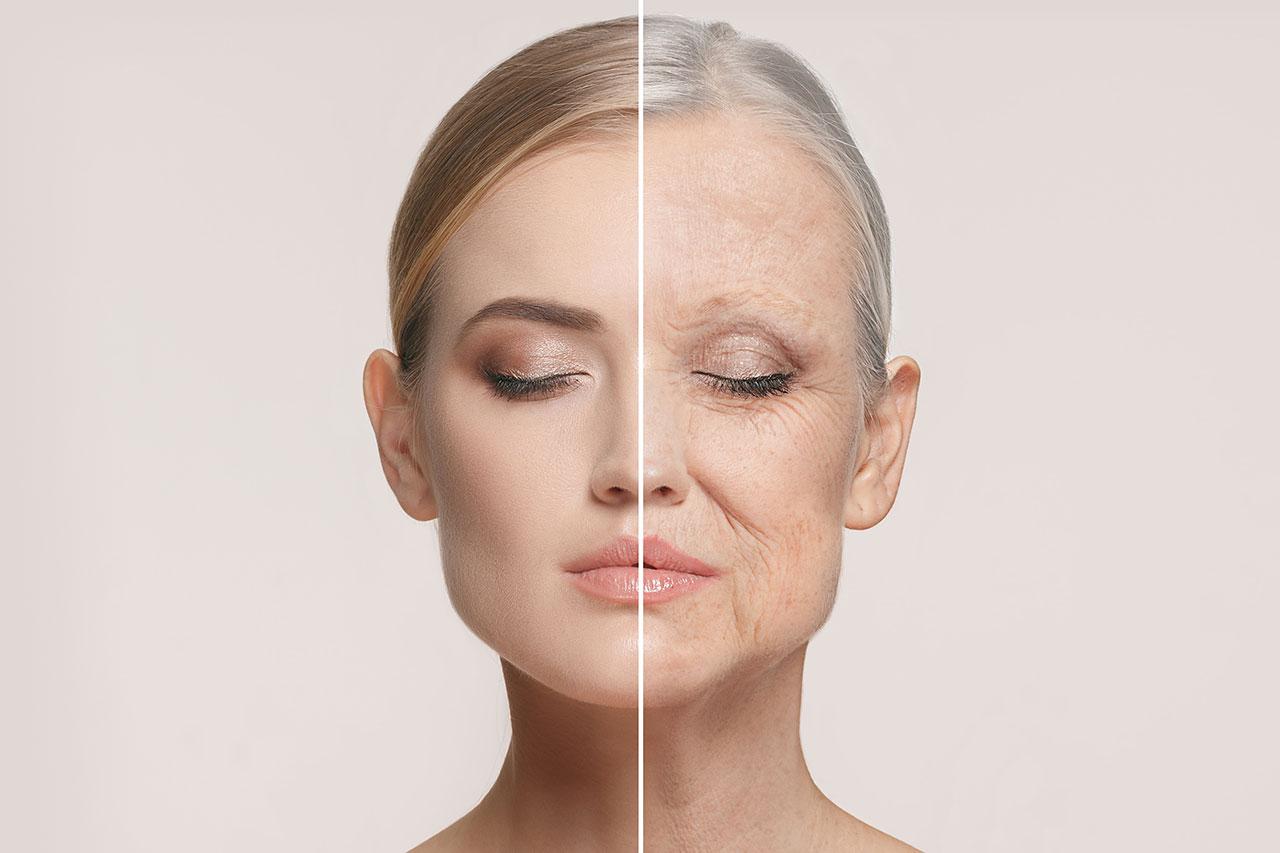 皮膚(お肌)の老化セルフチェック